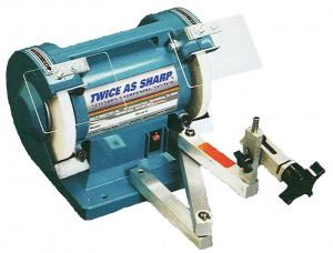 "Wolff  ""Twice as Sharp"" IND-TAS Industrial & Commercial Scissors Sharpener, shear sharpening machine,"