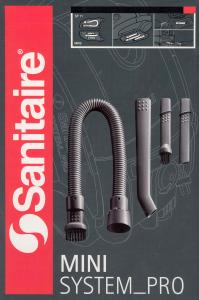 Sanitaire, System Pro ,Mini Vac ,Attachment Set, of Tools, # SP11, Nozzles, & Brushes, for Keyboards, Stereo Equipment, Electronics, Car Interiors
