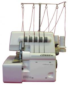 "Consew, 14TU2345, 14TU5432,  Freearm, Portable, 4mm ""Coverlock"", 5 thread, 4-thread, 3-thread, 2-thread,  Coverstitch, Safetystitch, Overlock, Machine,(same as, Singer 14U557)"