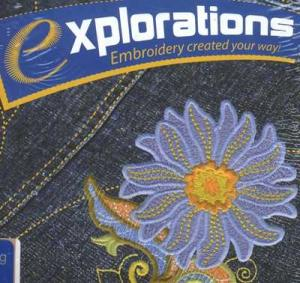 OESD ,Explorations Galaxy, 1.5 Edition, Project Based, Embroidery Design Software, with Basic Digitizing, Including Training CD