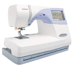 Janome, Memory Craft, MC9500, Computerized Sewing, Embroidery Machine,Janome MC9500 &amp; 25/10Yr Extended Warranty* 100Stitch Sewing and 5.5x8&quot; Embroidery Machine, 90 Designs, 3 Fonts, CF Compact Flash ATA Sleeve Card Port