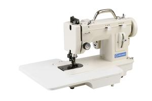 "Reliable 2000U Demo Straight Stitch & 5mm ZIGZAG Portable Walking Foot Metal Portable Upholstery Sewing Machine, TAIWAN 7""Arm 150W 1.5A 800SPM Handle"