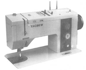 "Tacsew 950 (Bernina) HEAD ONLY, 21 Stitches, 5mm Straight, 5mm Zigzag, Flatbed 14.5x7"" Sewing Machine, 5Step Buttonhole, Knee Lift, Drop Feed, 6 Feet"