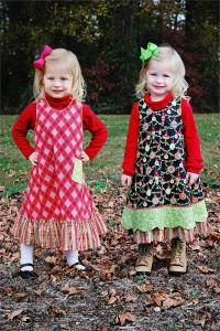 Pintucks and Pettiecoats  PAP16 Bella Sz 2-6