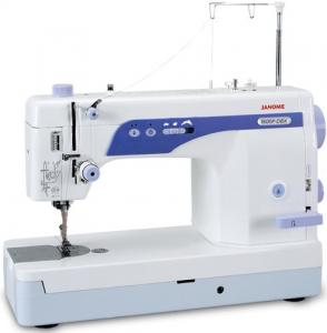 "Janome MC1600P DBX Demo Straight Stitch Sewing Quilting Machine, 6x9"" Arm Space, 1/2"" Foot Lift, Thread Trims, Knee Lever, Speed Limit, Needle Up Down"