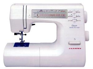 Janome, DE-5124 Decor, Excel Pro, Precise, Consistent, Professional, Sewing Machine, 24-Stitch, 1-Step Buttonhole, Drop-in Bobbin, - Factory Serviced