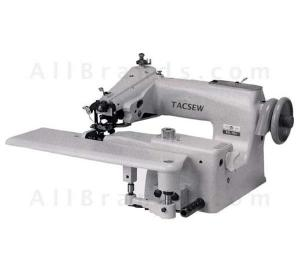 Tacsew T718 SS-2 FS Full Size Industrial Blind Hem Stitch Machine HEAD T-718 TAIWAN In Box, SkipStitch 8mmKneeLift CurveNeedle SwingPlate CylinderArm