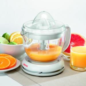 Aroma, ACJ-181, 1 Liter, Citrus Juicer,  transparent, juice cup, Starts and stops, automatically, Includes, citrus reamer, of two sizes, Easy to clean