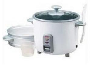 Aroma ARC-737-1NG 7 Cup Non Stick Cooking Pot with Steam Tray