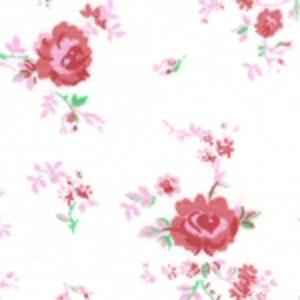 Fabric Finders 15 Yd Bolt 9.34 A Yd  #188 Pink Floral 100% Pima Cotton Fabric