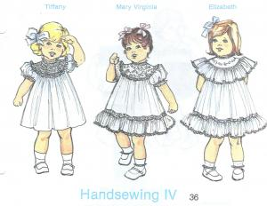 Childrens Corner Handsewing IV  Pattern