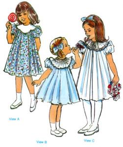 Childrens Corner Kathy and Kelley Pattern