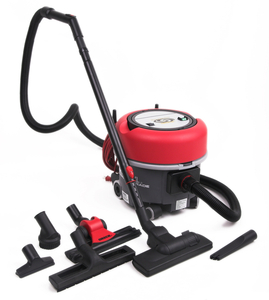 Oreck, Compacto 9, Commercial Canister, Vacuum Cleaner on Casters, 9 Quart, 2.1 Gallon Capacity, 2 Speed, 50' Foot  Power Cord, 9.5' Foot Hose