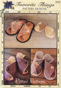 Favorite Things FT49 Pitter Patter Slipper for the whole family!