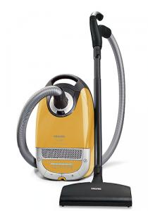 Miele, S5381, Leo, Yellow, HEPA, Canister, Vacuum Cleaner, Powerbrush, SEB 217-3, 1200W, Suction Control, Silence Setting, 33' Radius, 5Qt Bag Change ID, 20Lb
