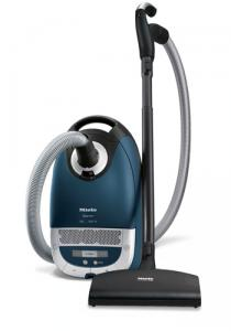 Miele, S5481, Earth, Marine Blue ,HEPA, Canister, Vacuum Cleaner, Powerbrush SEB 217-3, 1200W, 33' Radius, 360° Caster Wheels, Bag Change Indicator, 26Lbs