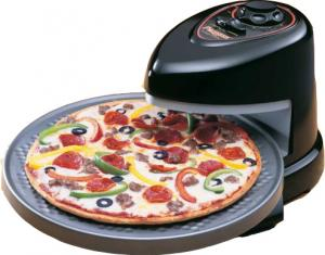 Presto, 03430, Pizzazz, Frozen Pizza Oven, 1235 Watts, 120 Volts - Revolves as it  Cooks Deli Style, Freezer to Perfect