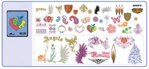 Brother No.80 Alphabet Embroidery Card SA380