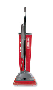 Sanitaire, SC684F, Commercial, Upright, Vacuum Cleaner, RED, 7Amp, 12 inch Path, Ball Bearing, Vibra Brush Roll, 50' Cord, 6 Carpet Heights, Top-Fill, Cloth Bag, 16 Lbs