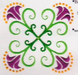 Amazing Designs ADC NZ23 Nancy Zieman Floral Boutique Collection I Embroidery Multi-Formatted CD