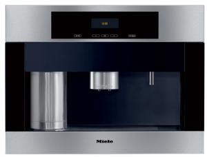 "Miele, CVA4066SS, 24"" Wide, Built In, Whole, Coffee Bean, 500g, System, Conical Grinder, Bypass, Frothing, Dual Cup, Hot Water, Dispensing Spouts, Plumbed Connect"