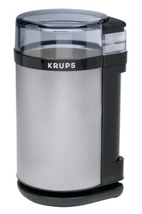 Krups GX4100-11 Coffee &amp; Spice Mill, Brushed Stainless Steel