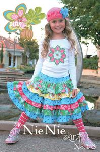 Pink Fig 933757 Nie Nie Skirt #18 Pattern