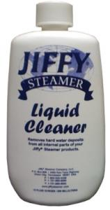Jiffy, 0898, Liquid Cleaner, for Garment Steamers, Removes Scale, from Steam Boilers, One 10oz  Bottle, FREE Shipping, FREE Bottle with  Select Uprights, Jiffy 0898 Liquid Cleaner Solution Removes Scale & Hard Water Deposits from Steam Boiler Tank, 10oz Bottle FREE with upright orders by UPS Ground USA*