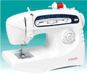 Singer 5430C FS 18Stitch Stylish Freearm Mechanical Sewing Machine, Top Drop-In Bobbins, Bartack Buttonholes, 6 Snap On Feet, Factory Serviced, 1Left