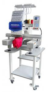 "Ricoma, RCM-1201PT, 12 Needle, Embroidery Machine, 1M Stitch, USB Port, 11 Hoops, to 22x16"", 270° Cap Equipment, Trimmers, 1000 SPM, DECO STUDIO software, 8000 designs CD, Stand, 200 Lbs, starter Kit*"