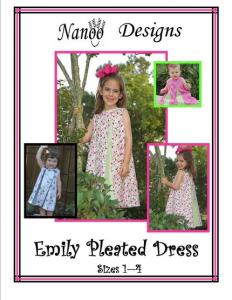 Nanoo Designs Emily Sizes 1-4