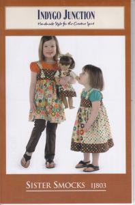Indygo Junction IJ803 Sister Smocks Pattern