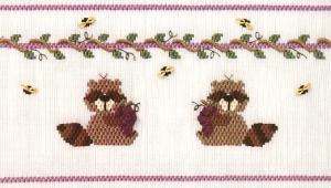 Little Memories Grapes of Racquel LM122 Smocking Plate