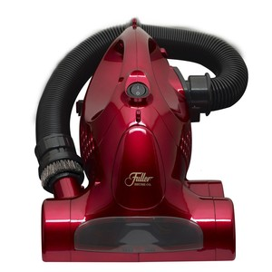 "Fuller Brush FBPM Hand Held Vacuum Cleaner with Revolving Brush, 845W, Dual Motor, 23' Cord, Fuller Brush FBPM Hand Held Bagless Vacuum Cleaner, 845W, Dual Motor, Revolving Brush, 23' Cord, 17/50"" Stretch Hose, Upholstery Brush, Shoulder Strap"