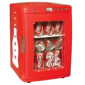 Koolatron KWC25 Coca Cola 28-Can Portable Fridge with LED Display