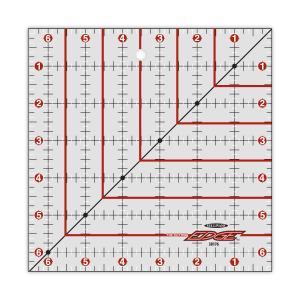 Sullivans 38176 Cutting Edge 6.5&quot; x 6.5&quot; Square Gridded Ruler Sharpener, Diamond Carbide edge, keeps your rotary cutter blade sharpened as you work