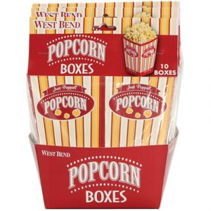 West Bend PC10663 Popcorn Pop-Up Boxes