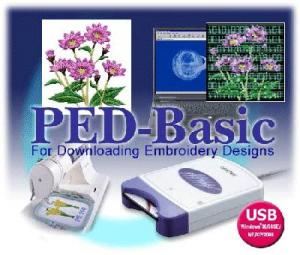 Brother, PED BASIC v 1.07, Embroidery Memory Card, Writer Box, Rewritable , 4MB, Blank Card, USB Cable, Downloads Designs, - FREE 3700 CD, Format, &amp; Color Conversion!