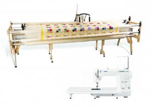 "Grace Gracie King 122"" Quilting Frame & Juki TL2000Qi Sewing/Quilting Machine"