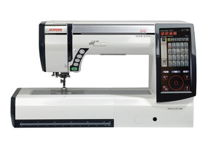 Janome, MC15000, Demo, Horizon, Memory Craft, Sewing, Embroidery, Quilting, Machine