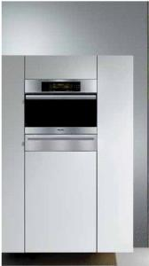 Miele DG4084 Classic Design Steam Oven, Master Chef Touch Controls, 1.37 Quart Water Reservoir, Electronic Temperature Control, Stainless Interior, Clean Touch Steel, Favorites Option