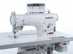 Brother BZ8560A43101812612 Electronic 10mm Zigzag Sewing Machine Z-8550A ControlBox Panel FootLift ThreadTrim HookOil DirectDrive 5000SPM Table Legs