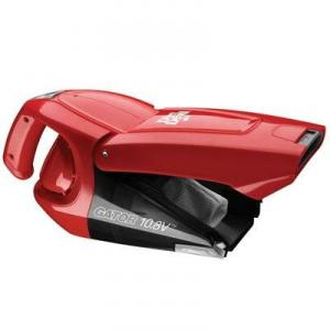 Dirt Devil BD10100RM Gator Bagless Hand Held Vacuum - 10.8v, Red, Dirt Cup, Cordless, Crevice Tool