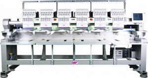 SWF K-UH1506-45 Six Head 15 Needle Tubular Automatic Embroidery Machine