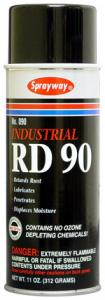 Sprayway RD-90 Spray Lubricant, 16oz Cans 12/Case