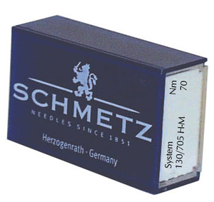 Schmetz Microtex, 130M Violet Band, Flat Shank Needles, for Home Sewing Machines, on Tightly Woven, Micro Fiber Fabrics, -100 Loose in Box, not Packs of 5