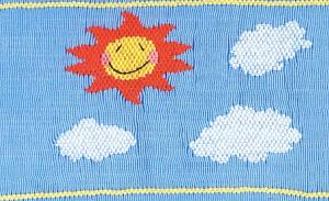 Cherished Stitches  CS85  You Are My Sunshine #85 Smocking Plate