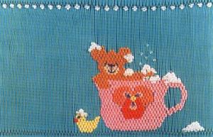 Cherished Stitches CS41 Bubble Tea Smocking Plate