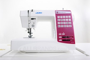 Juki HZL-K65 20Stitch Computer Sewing Machine, 1 Touch Select, Start Stop, Speed Control, 1Step Buttonhole, Threader, TopBobbin, DropFeed 15NP 16Lb