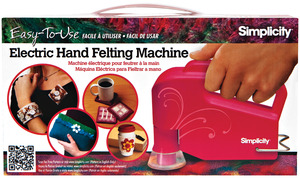Simplicity, 881494001, Hand Held, Electric, 6 Needle Punch, Felting Machine, -ELECTRIC HAND FELTER